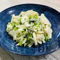 ポリ袋で簡単【カブとしらすの浅漬け】カブの葉は緑黄色野菜で栄養満点。捨てるなんてもったいない!