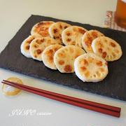詰めて焼くだけ簡単レシピ☆明太ポテト焼きレンコン☆そしてANA国内線355日前発売について。