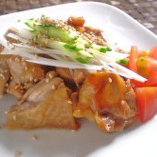 鶏肉の和風北京ダック~美肌&疲労回復~【健康レシピ】