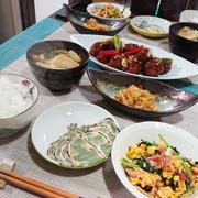 【2018年3月20日の晩ごはん】*551の甘酢肉団子の野菜炒め
