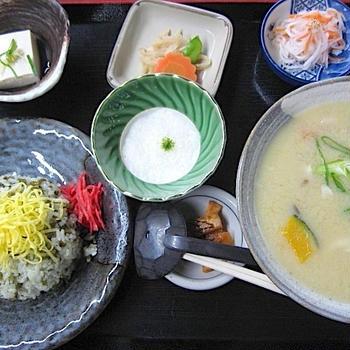 高菜めしとだご汁:熊本旅行②