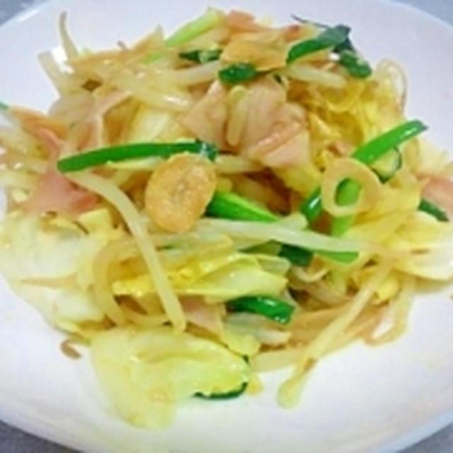 ご飯がすすむ☆カレーde野菜炒め