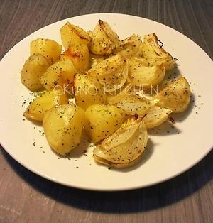 *レシピ*じゃがいもと玉ねぎのオーブン焼き