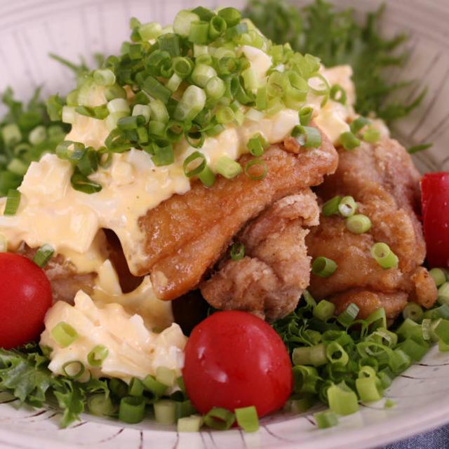 酢玉ねぎを使ったチキン南蛮の作り方