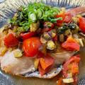 お魚をおしゃれにアレンジ!赤魚の茄子香味ソース