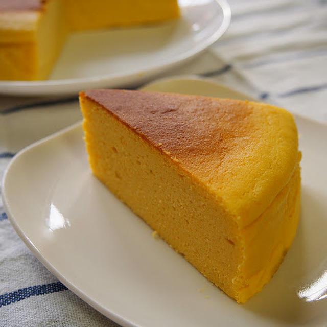 パンプキンスフレチーズケーキ