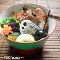 鶏もも肉のプルーン味噌inジンジャー~いちばんのお弁当~