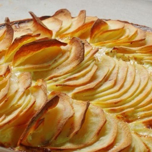 グラタン・ドフィノワ(Gratin Dauphinois)じゃが芋のグラタン:finalventさん絶賛の「修道院のレシピ」より紹介