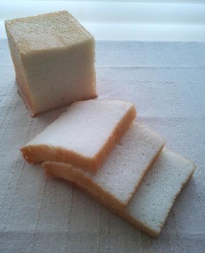 お弁当向きの米粉食パン