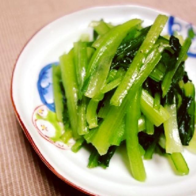 話題入り感謝☆毎日食べても飽きない♪小松菜のナムル