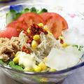 サラダそうめん☆暑さで食欲がないときも、これならきっと大丈夫! by ひなちゅんさん