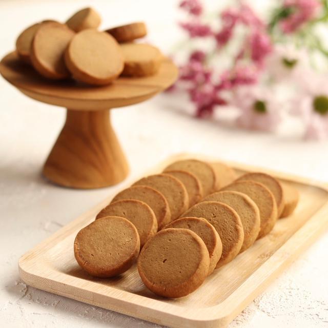 【大人気】ほどける米粉のほろ苦コーヒークッキー