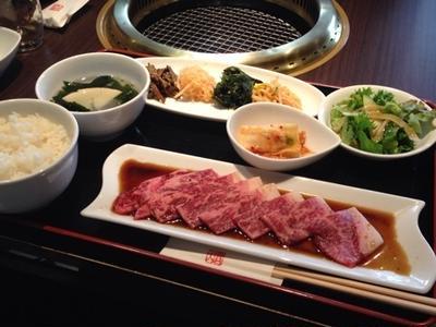 特上厚切りロース焼肉ランチ♡祇園 天壇