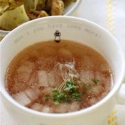 大根と梅干しのさっぱりスープ