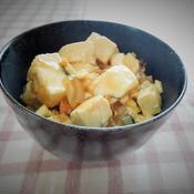 本格中華の香り☆ゆず豆腐の中華風うま煮
