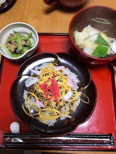 久しぶりに、丹後の『ばら寿司』作りました!