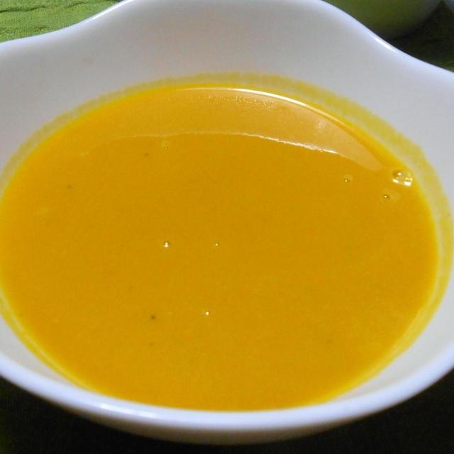 11月21日は ほっこりカボチャのポタージュスープ&柔らかさっくりチキンカツ