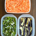 レンジでササっと♪「副菜の作り置き」3品。