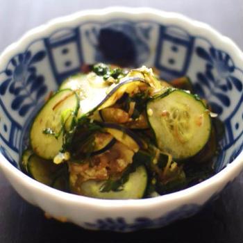 レシピ~夏野菜の即席漬け~