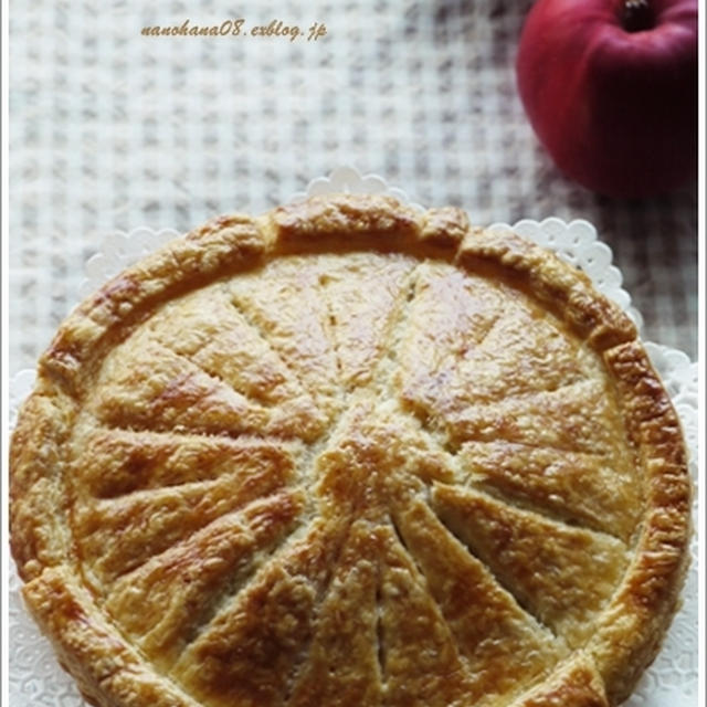 アップルパイ  яблочный пирог