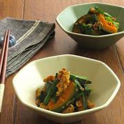 ごはんがすすむ◎かぼちゃと豚ひき肉の炒めオイスター風味 by kaana57さん
