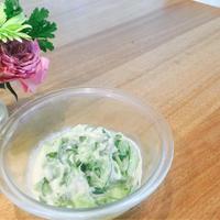 クミン香るキュウリのヨーグルトサラダ