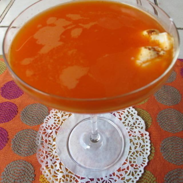 パプリカの冷製スープ  7・24・2012