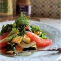 グリルした野菜とシトラスのサラダ