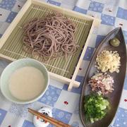 ひんやり★豆腐蕎麦