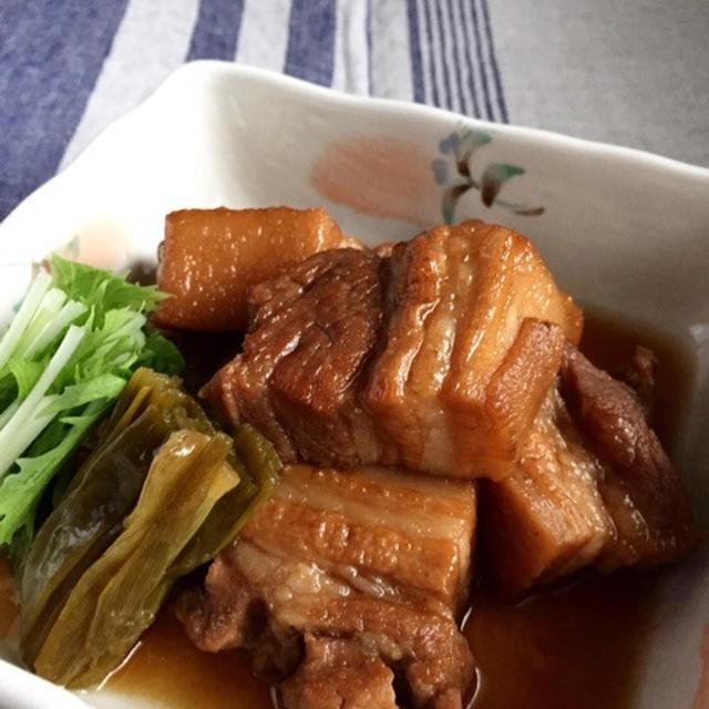 お正月におすすめ♪炊飯器でほろほろとろとろ豚の角煮*焼き豚仕込み中。