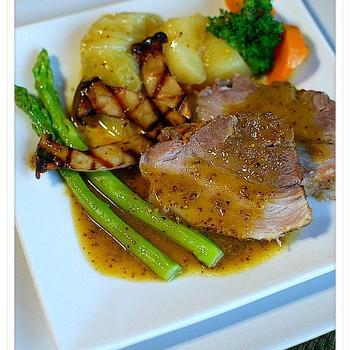 ✿豚バラ肉のブレゼ・マスタードソース✿