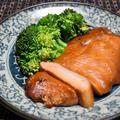 鶏むね肉の味噌粕漬け。お肉柔らかうまみ凝縮おつまみ。