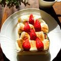 とろ~りとろける♡ストロベリースモアトースト【#5分 #マシュマロ #簡単スイーツ】 by Y'sさん