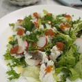 【ハモのサラダ】鱧の美味しい季節がやってきました。京都や大阪が鱧のイメージですが愛媛でも取れます