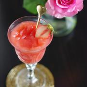 フルブラ苺のフローズンカクテル