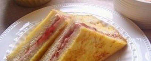 何をはさんでみよう?「フレンチトーストサンド」で満足度2割増し!