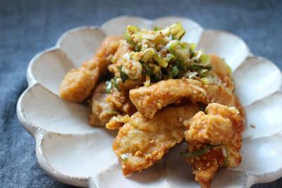 我が家の定番お惣菜~すし酢で作る油淋鶏