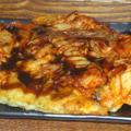 キムチチーズお好み焼き