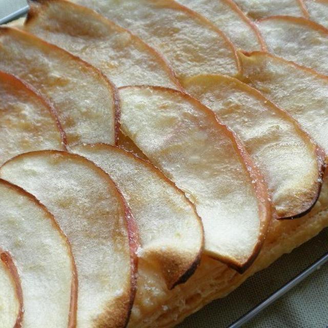 ★レシピ★ 簡単!林檎のオープンパイ
