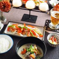 「秋鮭の南蛮漬け」おだしでおいしい一汁一菜レシピ*ヤマキだし部
