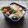 玉子かけご飯でマヨ醤油炒飯のお弁当