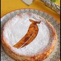 水切りヨーグルトで簡単・安うま!バナナのベイクドチーズケーキ風
