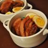 練りスパイスの豚の角煮