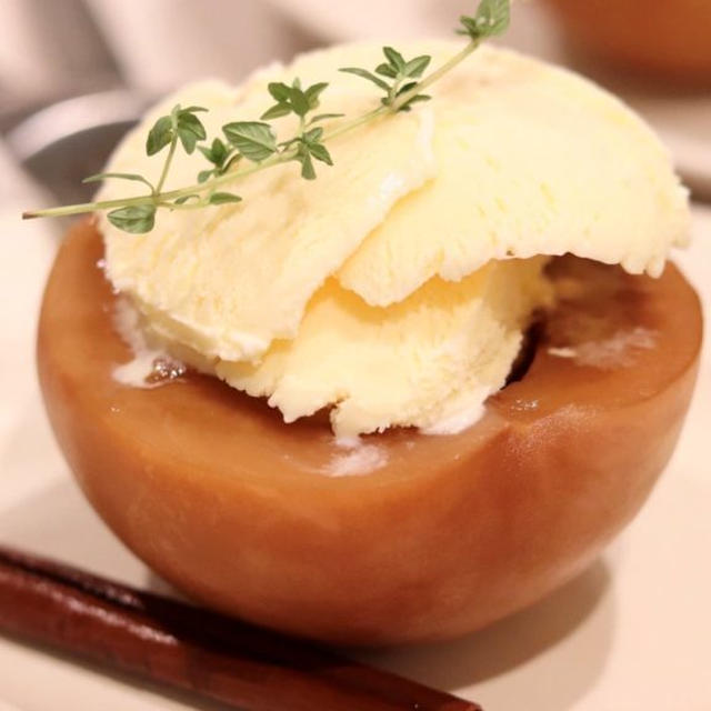 丸ごと桃で作る♪『桃のチャイコンポート』のレシピ*