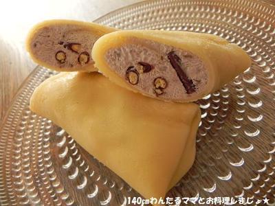 簡単★ポッキーとバナナのアイスクレープ