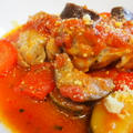 下味に味付けに仕上げに!バジル香る☆チキンと夏野菜のトマト煮込み♪