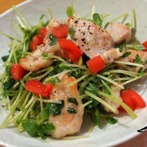 栄養たっぷり♪豆苗とにんにくの食欲増進レシピ