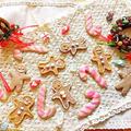 ジンジャーブレッド&キャンディケーンのお持たせクッキー♡