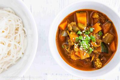 インドカレーつけ麺