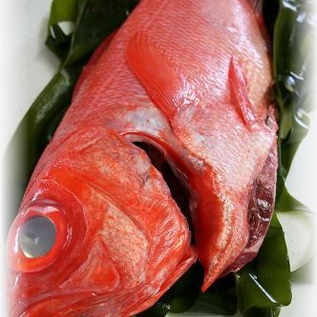 飲んじゃったサマーパーティ☆魚の若芽蒸し